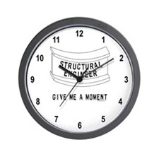 Beam Moment Wall Clock