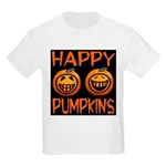Happy Pumpkins Kids Light T-Shirt