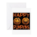 Happy Pumpkins Greeting Cards (Pk of 10)
