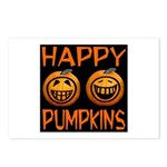 Happy Pumpkins Postcards (Package of 8)