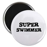 SUPER SWIMMER Magnet