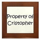 Unique Cristopher Framed Tile