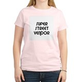 SUPER STREET VENDOR Women's Pink T-Shirt