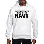 Property of US Navy Hooded Sweatshirt
