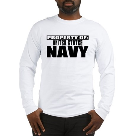 Property of US Navy Long Sleeve T-Shirt