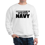 Property of US Navy Sweatshirt