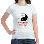 OPPOSITES ATTRACT Jr. Ringer T-Shirt