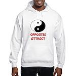 OPPOSITES ATTRACT Hooded Sweatshirt