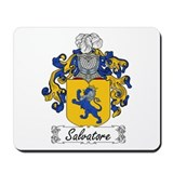 Salvatore Family Crest Mousepad