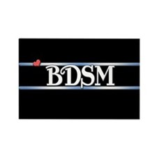 BDSM Rectangle Magnet