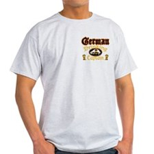 German Drinking Cptn T-Shirt