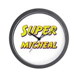Super micheal Wall Clock