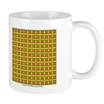 Yellow Latticework Mug