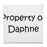 Funny Daphne Tile Coaster