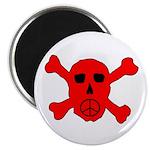 Peace Skull Magnet