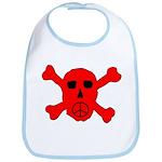 Peace Skull Bib