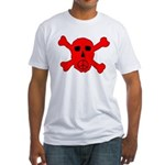 Peace Skull Fitted T-Shirt