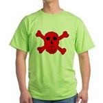 Peace Skull Green T-Shirt