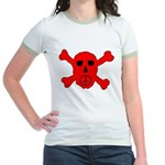 Peace Skull Jr. Ringer T-Shirt