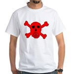 Peace Skull White T-Shirt