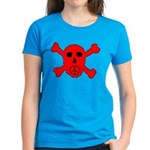 Peace Skull Women's Dark T-Shirt