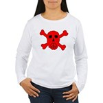 Peace Skull Women's Long Sleeve T-Shirt