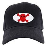 Peace Skull Black Cap