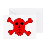 Peace Skull Greeting Cards (Pk of 20)