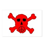 Peace Skull Postcards (Package of 8)