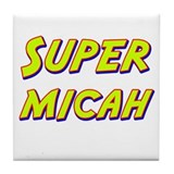 Super micah Tile Coaster