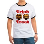 Trick or Treat Pumpkins Ringer T