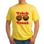 Trick or Treat Pumpkins Yellow T-Shirt