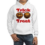 Trick or Treat Pumpkins Hooded Sweatshirt