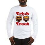 Trick or Treat Pumpkins Long Sleeve T-Shirt