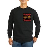 Trick or Treat Pumpkins Long Sleeve Dark T-Shirt