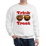 Trick or Treat Pumpkins Sweatshirt
