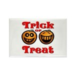 Trick or Treat Pumpkins Rectangle Magnet (10 pack)