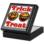 Trick or Treat Pumpkins Keepsake Box