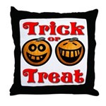 Trick or Treat Pumpkins Throw Pillow