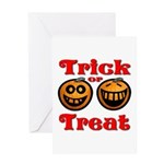 Trick or Treat Pumpkins Greeting Card