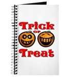Trick or Treat Pumpkins Journal