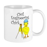 Civil Engineer Chick Mug