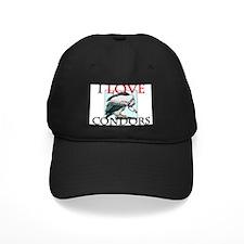 I Love Condors Baseball Hat