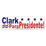 Clark Para Presidente! (bumper sticker)