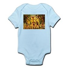 Circus Acrobats Infant Bodysuit