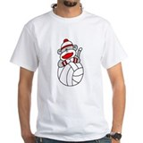 Sock Monkey Volleyball Shirt