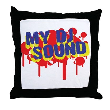 My DJ Sound Throw Pillow