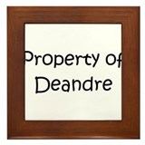 Unique Deandre Framed Tile