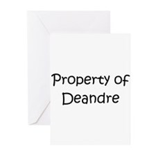 Unique Deandre's Greeting Cards (Pk of 10)