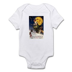 Witches Riding By Infant Bodysuit